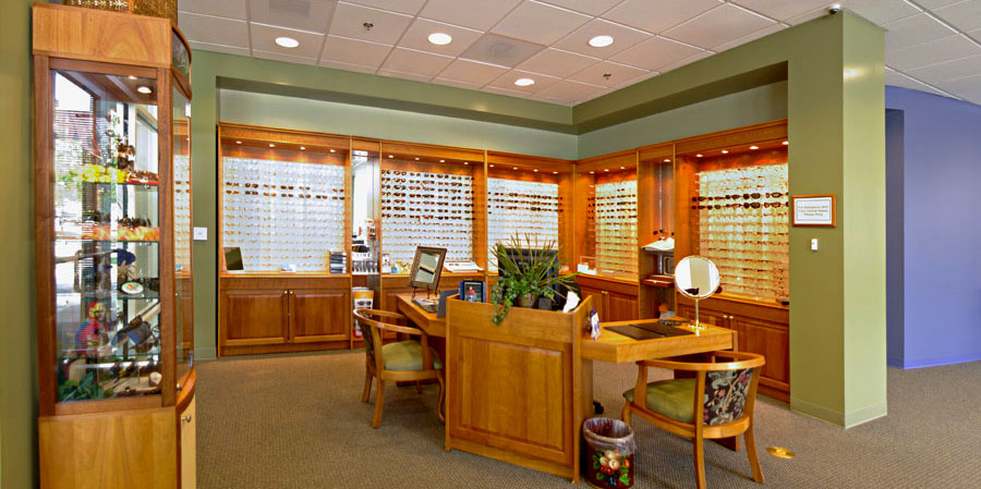 Optical Shop Carolina Cornea in Greenville South Carolina