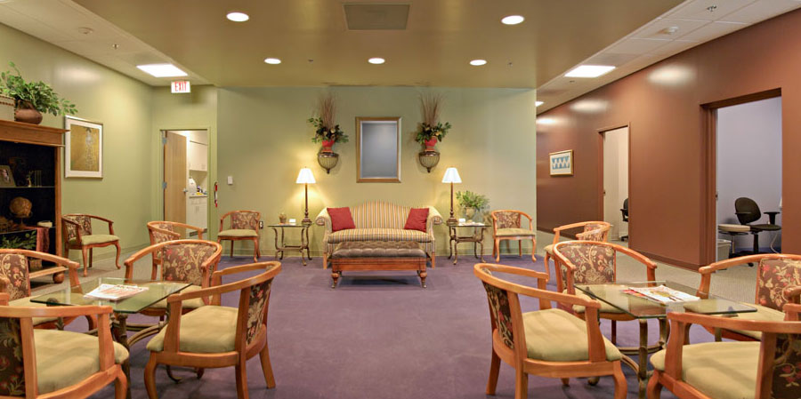 Reception Area Carolina Cornea in Greenville South Carolina